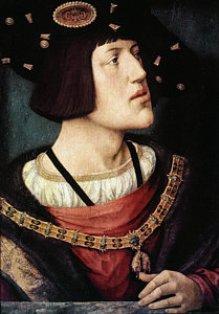Carlos I por Bernaert van Orley (1519)